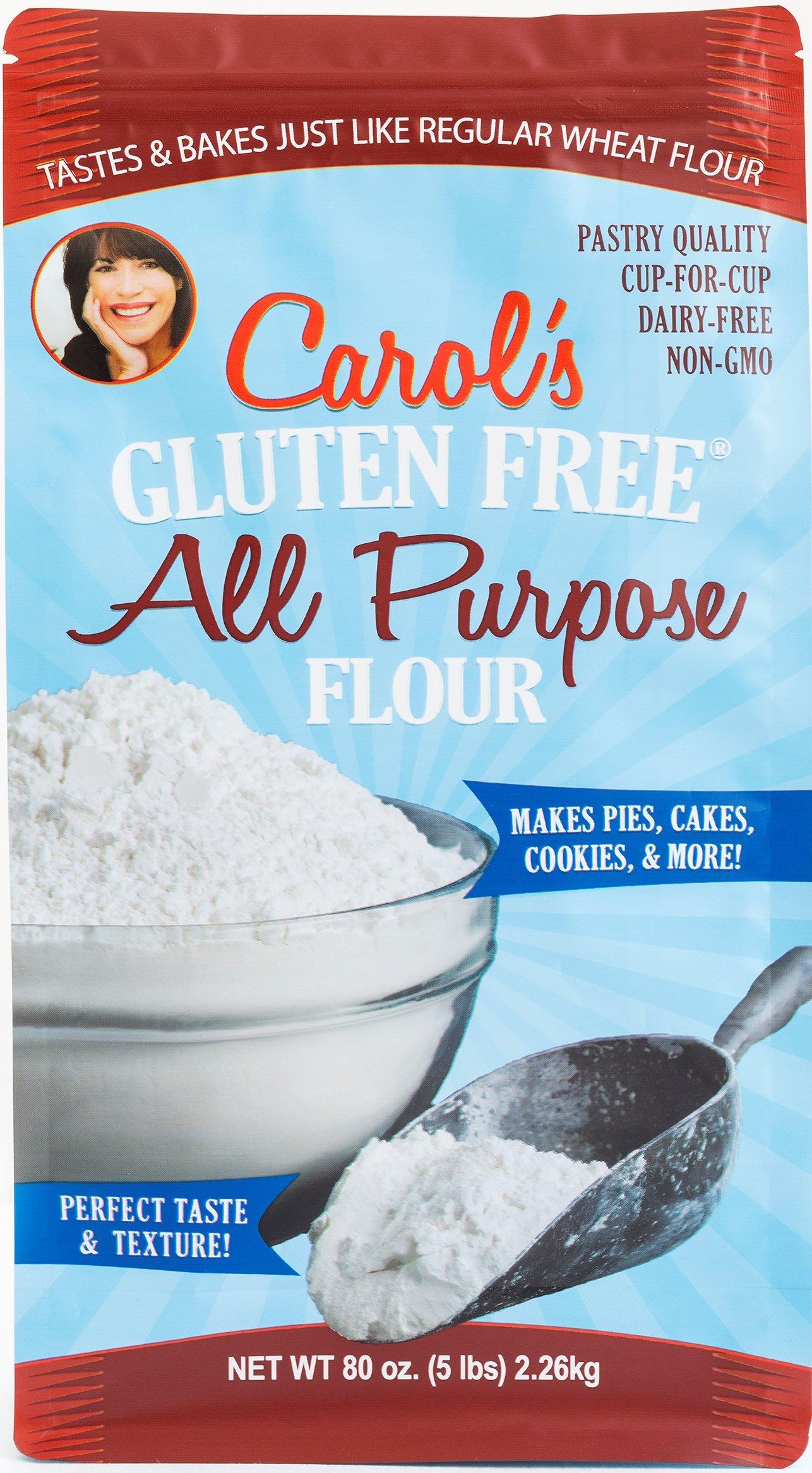 Carol's All Purpose Flour Blend Gluten-Free Measure for Measure, 5 Pound Resealable Bag