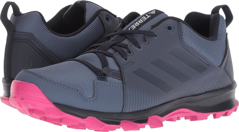 adidas outdoor Women's Terrex Tracerocker W Trail Running Shoe B078WFPQVL 7 B(M) US|Tech Ink/Trace Blue/Real Magenta