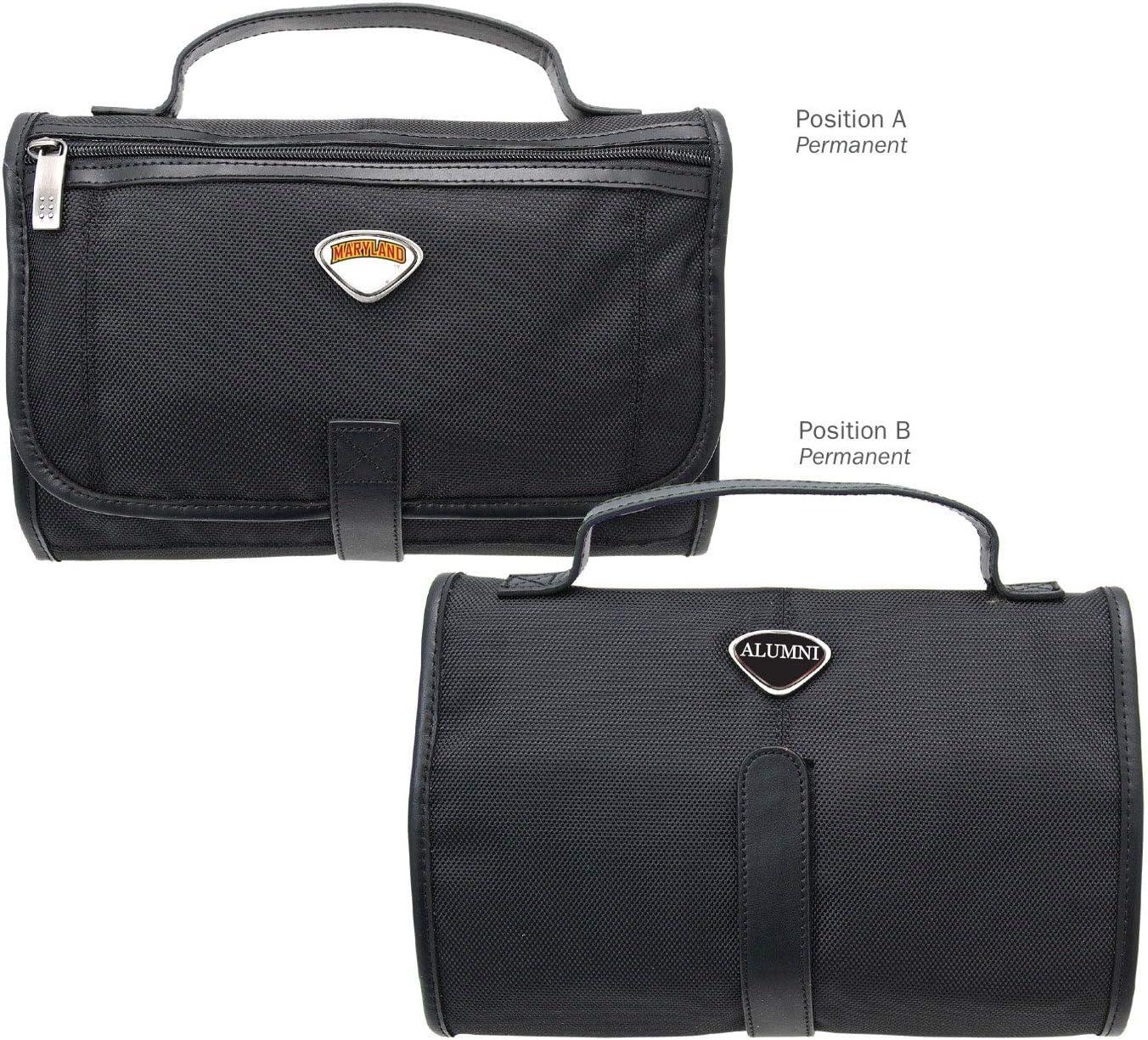 One Size Black AdSpec NCAA Maryland Terrapins Collegiate Toiletry BagCollegiate Toiletry Bag