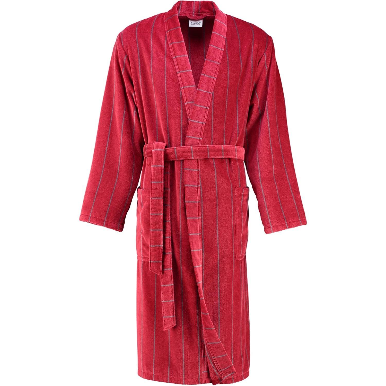 Cawö Herren Bademantel Saunamantel Walk Velours Qualität Kimono Form Gr. 54
