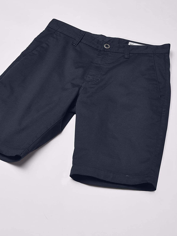 Volcom Men's Frickin Modern Fit Stretch Chino Pant Casual Dark_navy