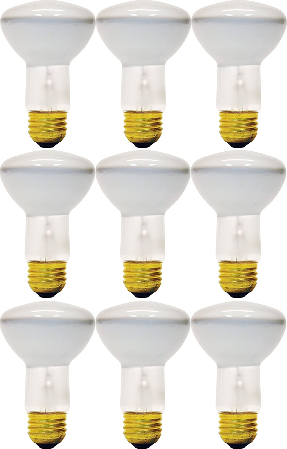 GE Lighting Soft White 73027 45-Watt, 310-Lumen R20 Floodlight Bulb with Medium Base, 12-Pack