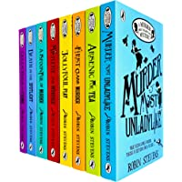 A Murder Most Unladylike Mystery Series 8 Books Collection Set by Robin Stevens (First Class Murder, Jolly Foul Play…