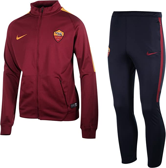 Desconocido Y Nk Dry Sqd TRK Suit K Chándal As Roma, Hombre ...