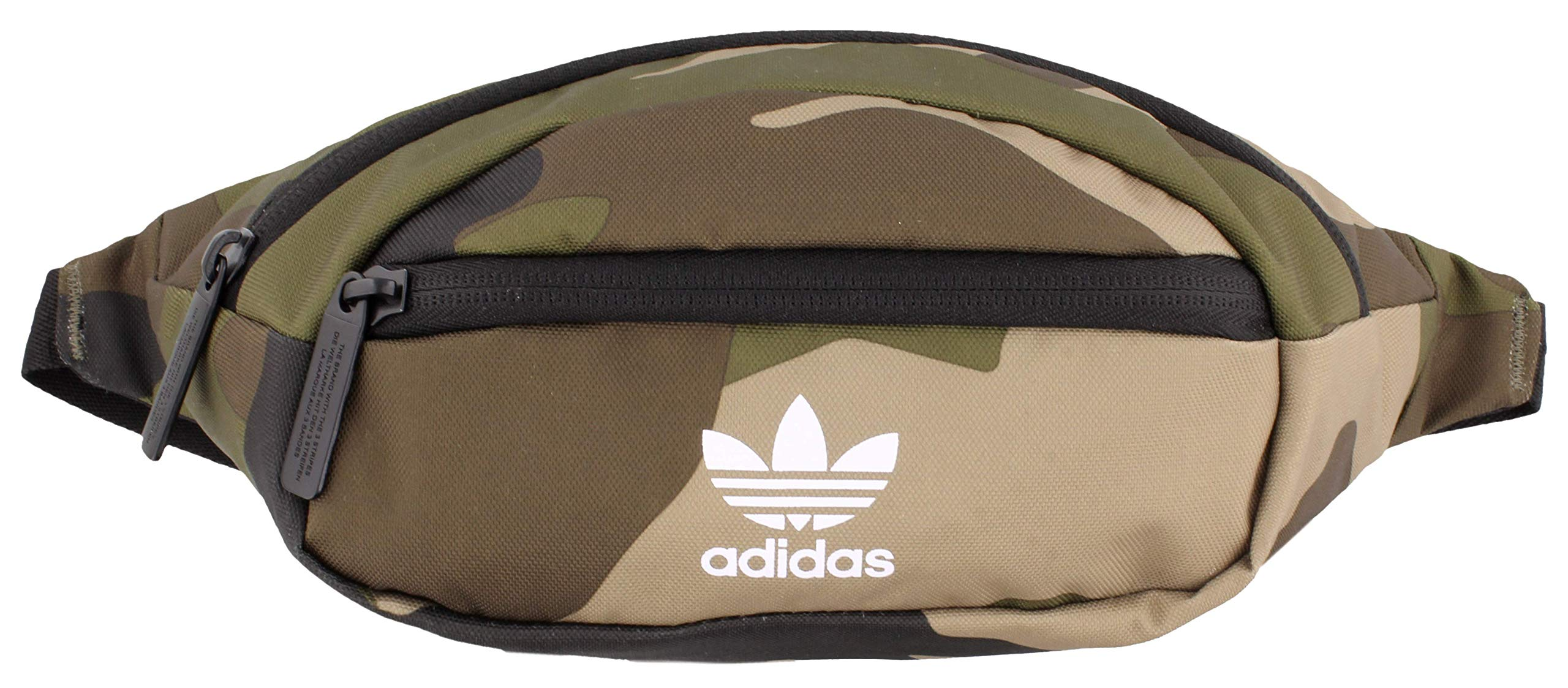 adidas Originals Unisex National Waist Pack, Olive Cargo Aw Camo, ONE SIZE by adidas Originals