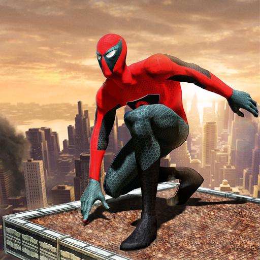 Flying Superhero Gangster City Battle Crime Adventure Simulator 2018 Free For Kids: Terrorist Vs Police Fighting Commando Warrior Revolution 3D Game (Cases Commando)