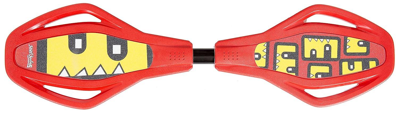 Streetsurfing Wave Mini SL Rollerserf Rojo - Monopatines (Rollerserf, Rojo, Imagen, Negro, 740 mm, 205 mm) 500121