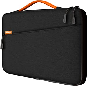 JETech Laptop Sleeve for 13.3-Inch Tablet, Waterproof MacBook Case with Portable Handle, Compatible with 13