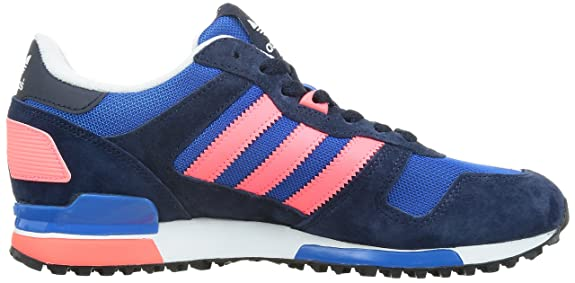 445d766e3c3ca Adidas Originals ZX 700 Mens B34333 Navy White Bluebird Retro Suede Running  Casual shoes  Amazon.co.uk  Shoes   Bags