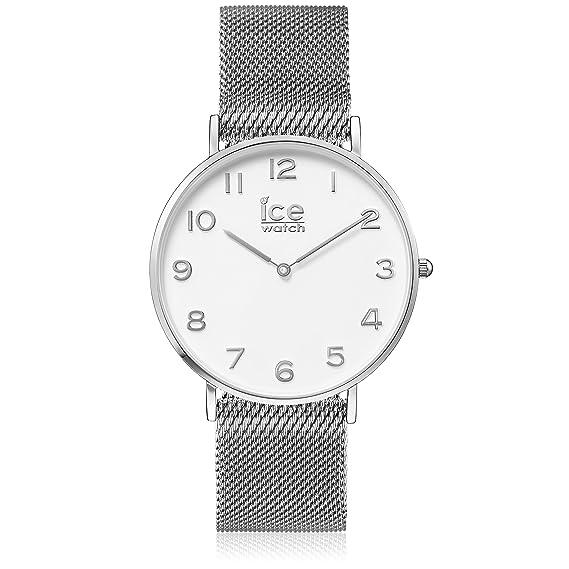 Ice-Watch Reloj Analógico Cronometro para Mujer con Correa de Acero Inoxidable - 12701: Ice-Watch: Amazon.es: Relojes