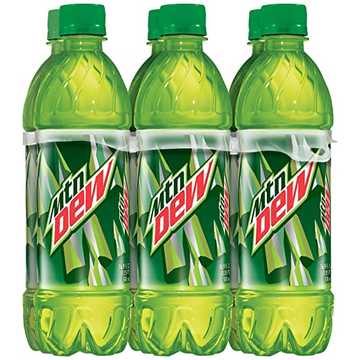 Amazon.com: Mountain Dew Regular, 6 Count, 16.9 fl oz Bottles: Prime Pantry