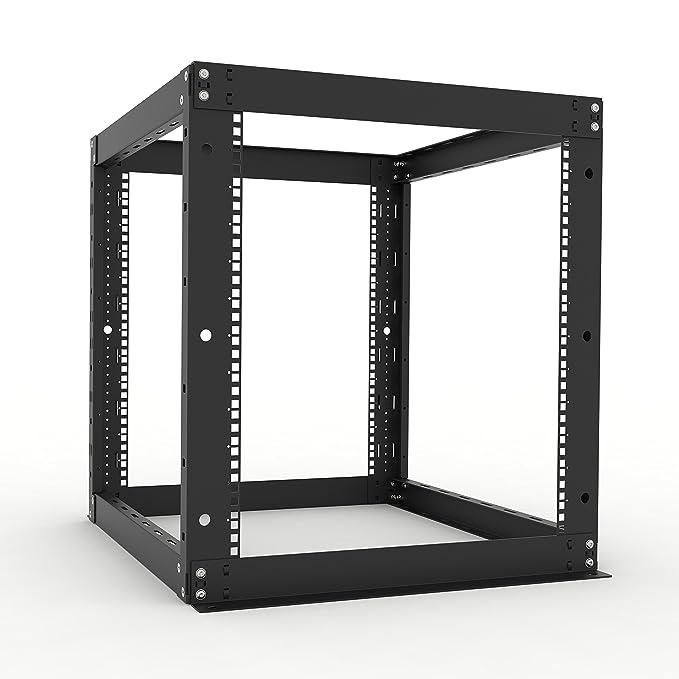 RackSolutions 12U - Perchero con Marco Abierto de 50,8 cm de ...