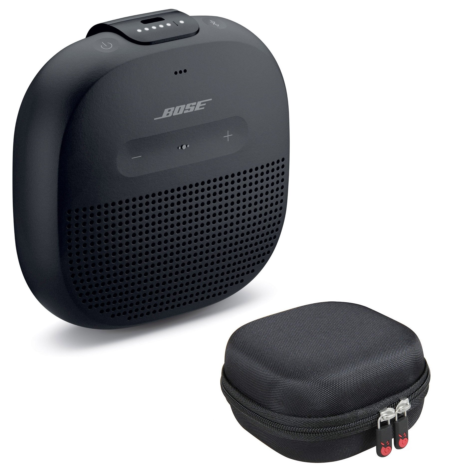 Bose SoundLink Micro Bluetooth Speaker, Black, with Protective Hardshell Travel Case by Bose