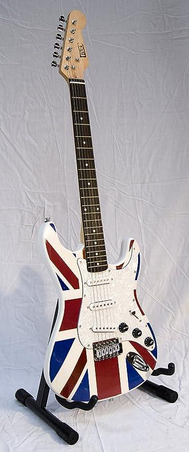 Guitarra eléctrica/Stol – mg1023/bandera Inglés UK