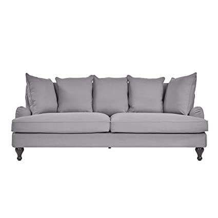 Amazon.com: Sofas 2 Go S2G-M15S-146101 S2G Connor Fog Sofa ...