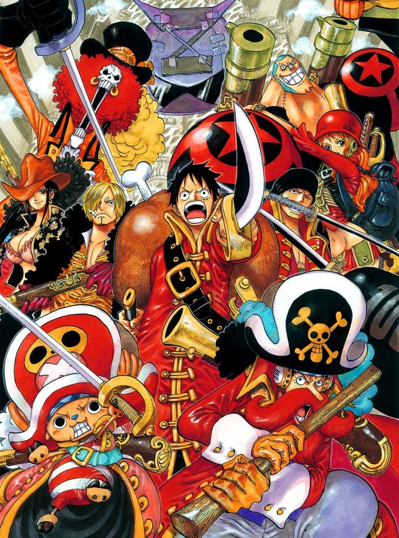 Amazon Com 000 One Piece Film Strong World Episode 0 14x19 Inch