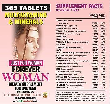 Especialmente para la mujer, Combaten cansancio, aumentan la energia, elevan defensas del cuerpo.: Health & Personal Care