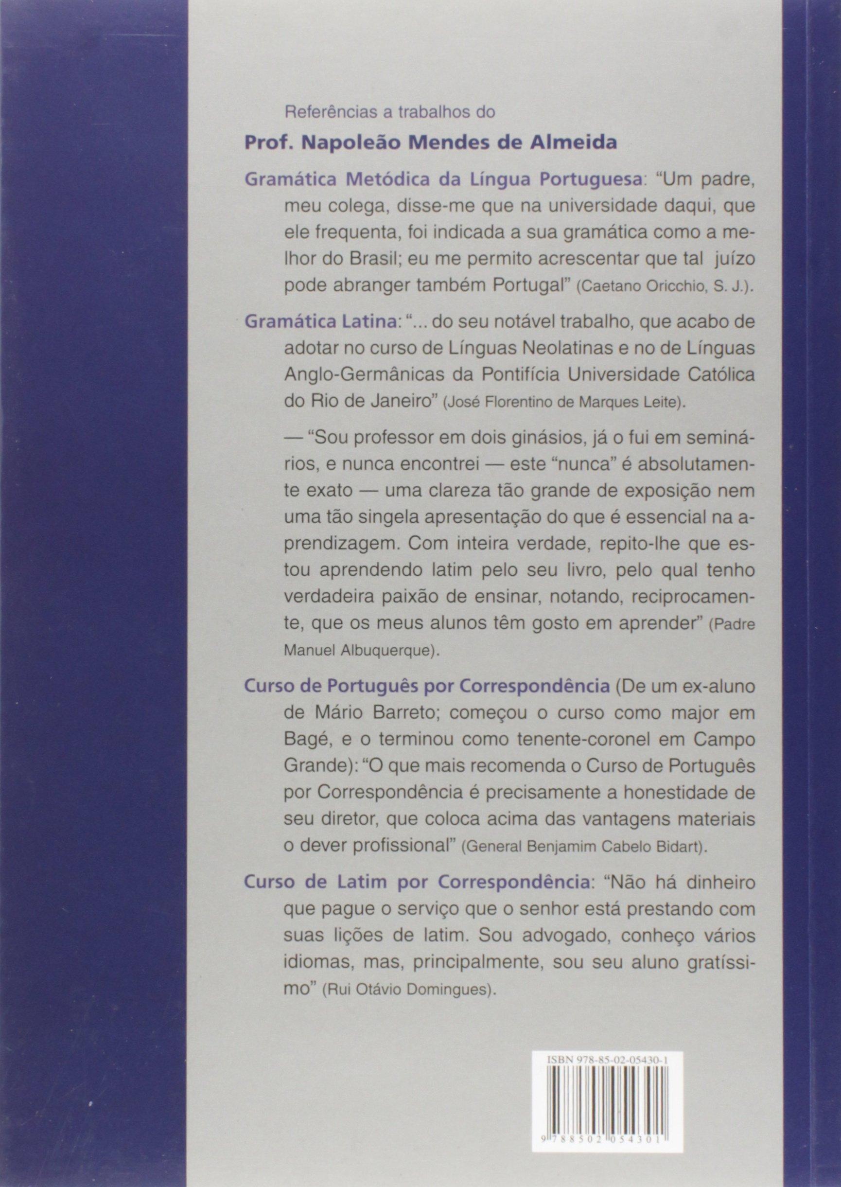 Da gramatica portuguesa pdf lingua metodica