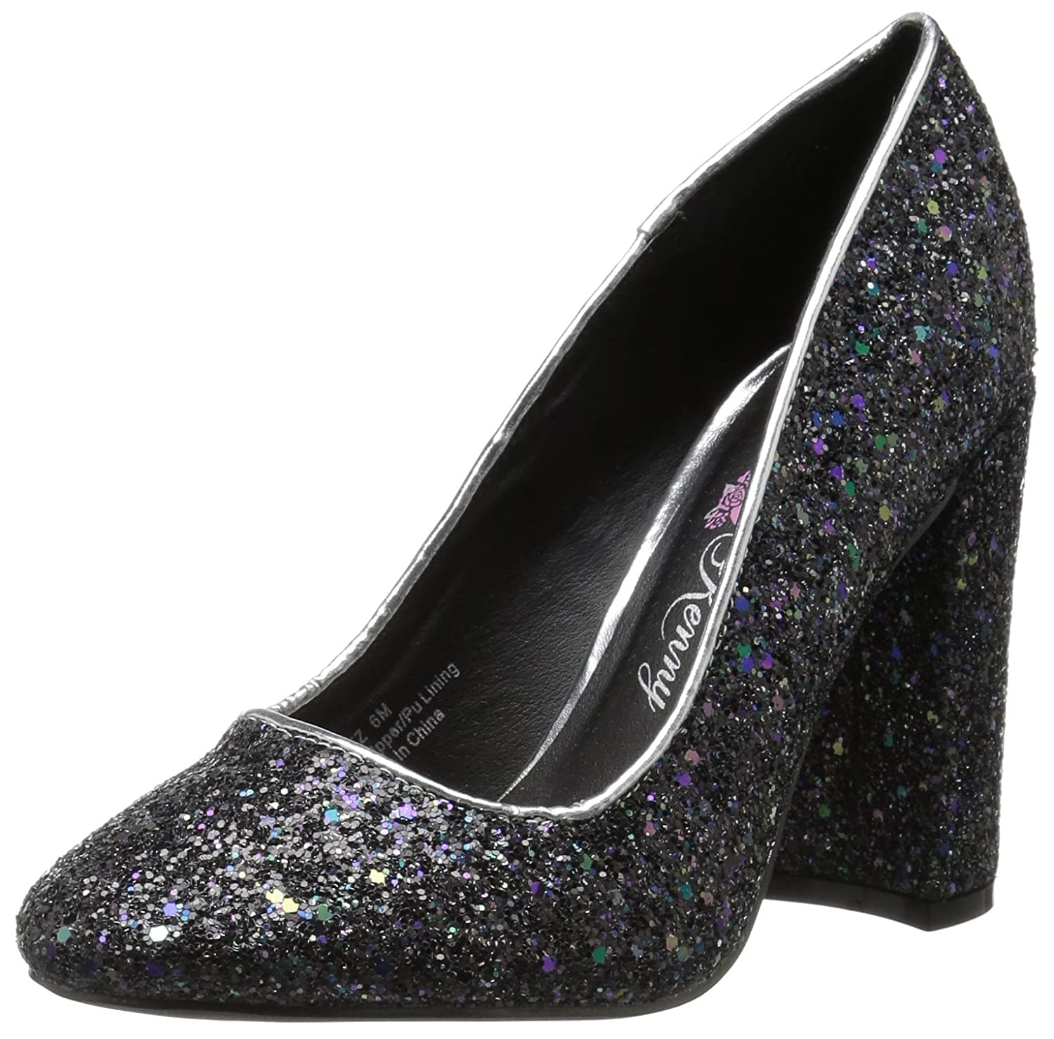 Penny Loves Pumps Kenny Frauen Pumps Loves Silber Groesse 9 US /40 EU - a2ad34