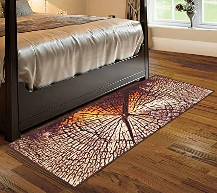 Cloth Fusion Premium Quality Made in Egypt Bed Runner Carpet for Bedroom (2x6 Feet)
