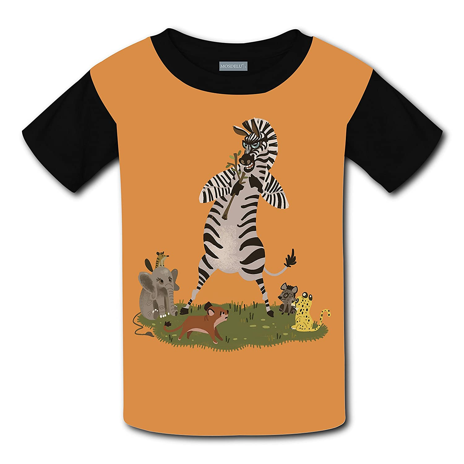 Amazon 100 Cotton New Funny Shirt 3d Custom Printed With Zebra