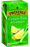 Twinings Green Tea and Lemon, 100 Tea Bags