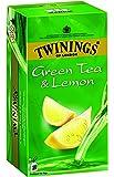 Twinings Green Tea and Lemon, 100 Tea Bags