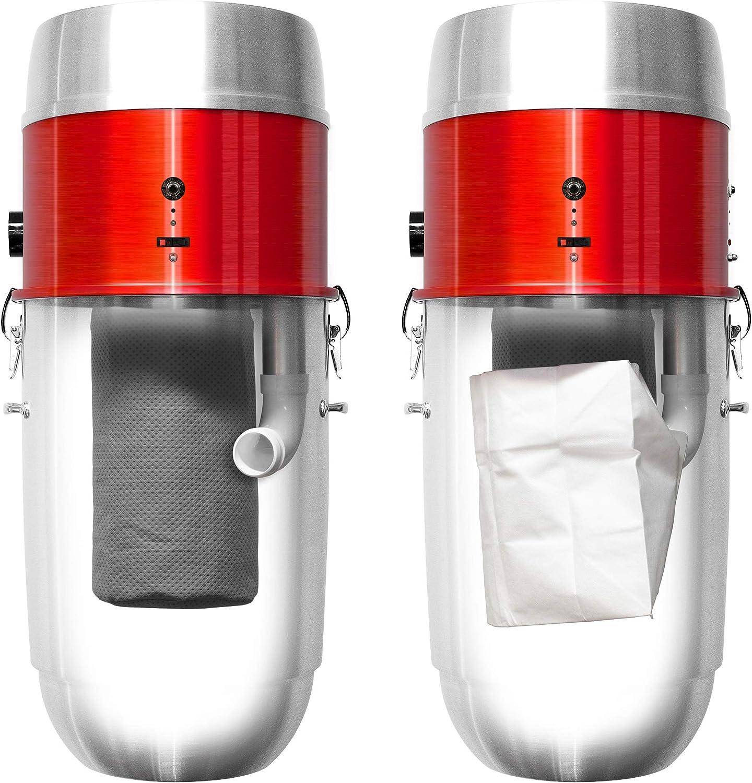 Nadair ASP-03 - Aspirador centralizado, Aluminio repelido en frío ...