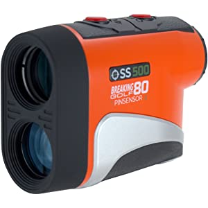 The Breaking 80 SmartSlope Golf Rangefinder