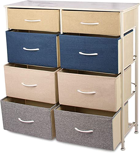 8-Wide Drawer Dressers Chests of Drawers