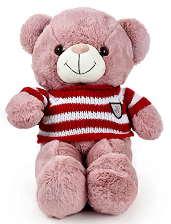 LOFA Bear-in-The-Sweater Plush Toy (Light Pink)