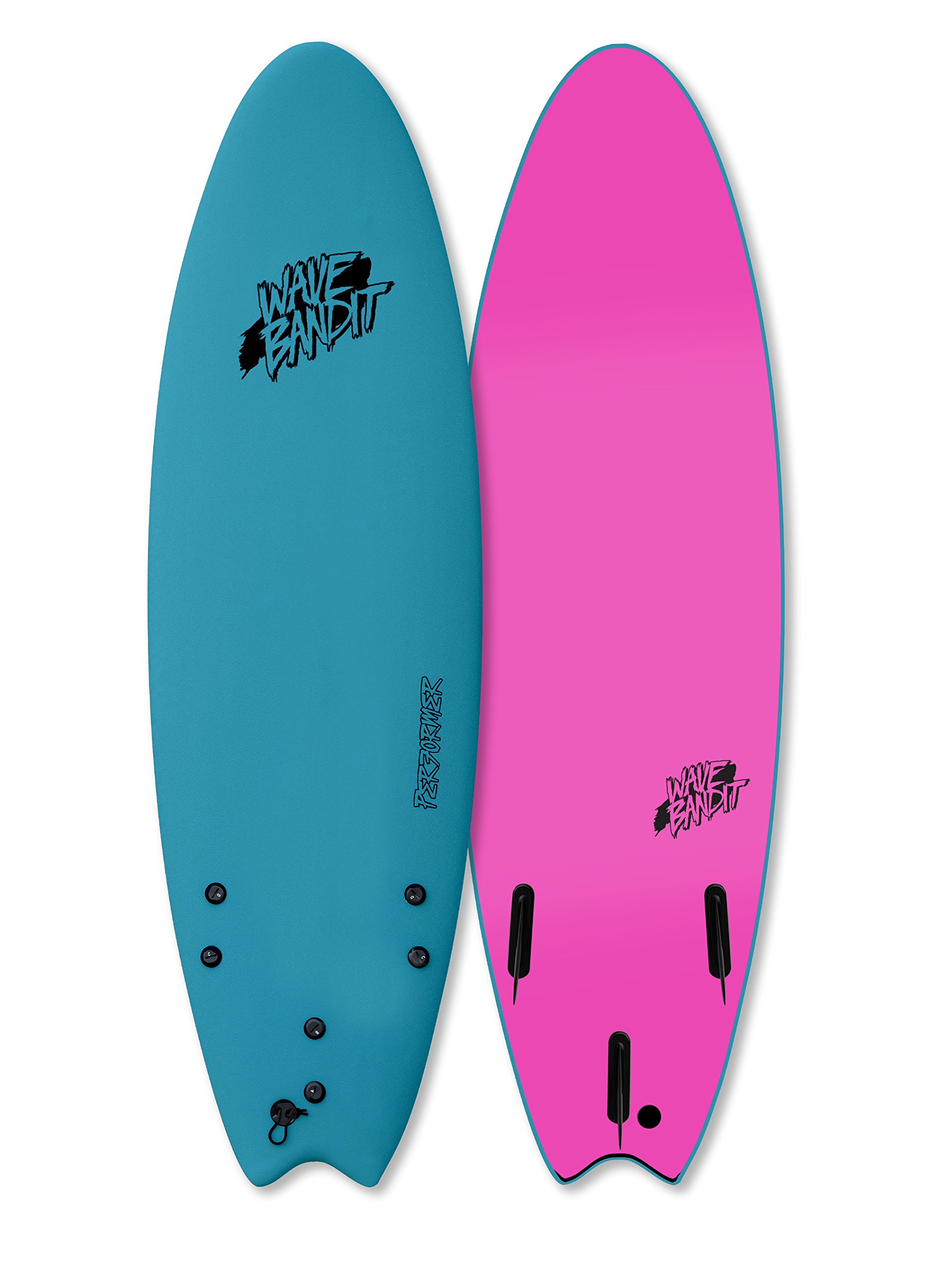 Wave Bandit Performer Tri, Steel Blue, 6'6''