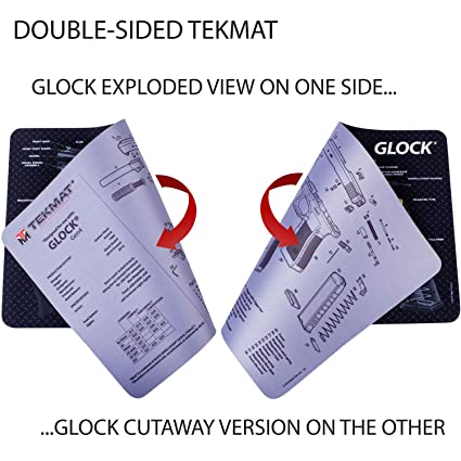Fabulous Amazon Com Tekmat Glock Double Sided Gun Cleaning Mat 11 X 17 Wiring 101 Capemaxxcnl