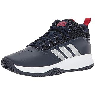 adidas Men's Ilation 2.0, Collegiate Navy/Matte Silver/Scarlet, 7 M US