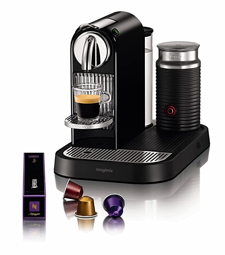 Nespresso Citiz and Milk Coffee Machine, Limousine Black by ...
