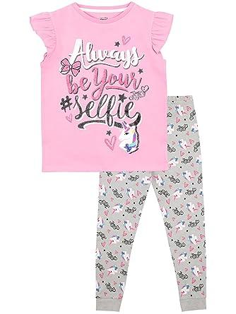 26e638697342 JoJo Siwa Girls Selfie Pyjamas: Amazon.co.uk: Clothing