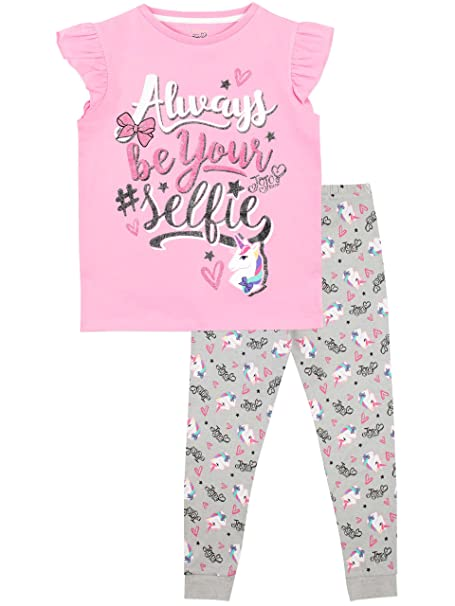 JoJo Siwa Pijama para Niñas Selfie Multicolor 5-6 Años