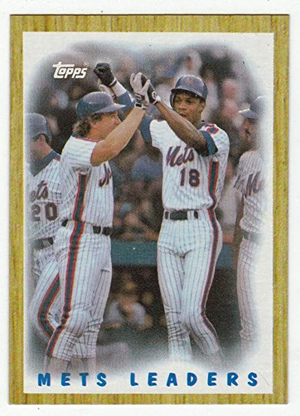 Amazoncom Gary Carterdarryl Strawberry Baseball Card