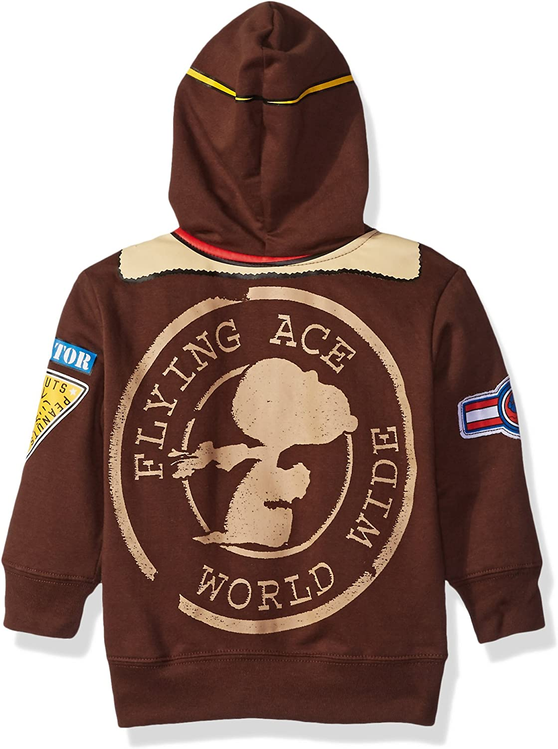 Peanuts Little Boys Toddler Character Hoodie