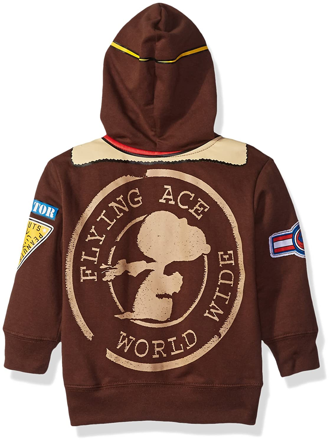 c79ece8960 Amazon.com  Peanuts Boys  Toddler Character Hoodie  Clothing