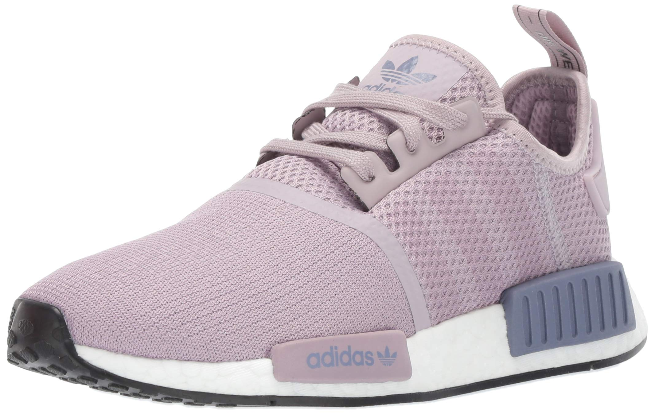 adidas Originals Women's NMD_R1 Running Shoe Soft Vision/raw Indigo, 5 M US