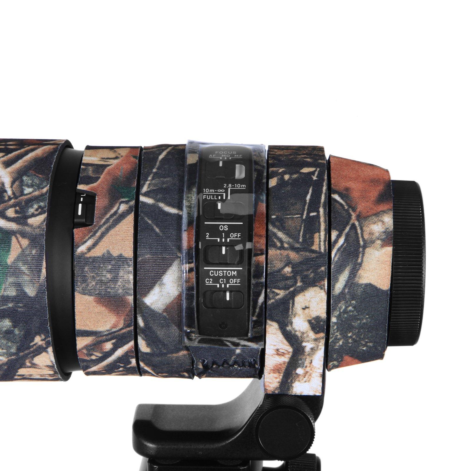 Mekingstudio Camera Lens Cover Protective for Sigma 150-600mm C - Forest Green Camo by Mekingstudio (Image #3)