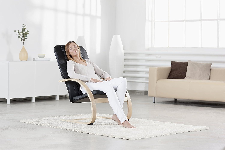 Medisana RC 420 Relaxsessel mit Shiatsu-Massagefunktion, Massagestuhl mit Wärmefunktion, Spotmassage, Rollmassage, Swing-Sessel mit Wohlfühlfaktor