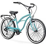 sixthreezero Cruiser-Bicycles Around The Block Womens Beach Cruiser Bicycle