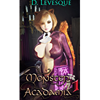 Monster Acadamia 1: An Arthurian Magical Portal Harem series. (English Edition)