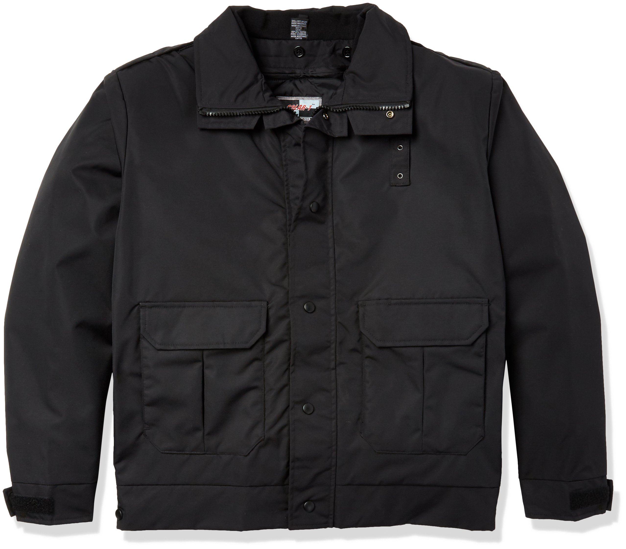 Solar 1 Clothing PD01 Duty Jacket Designed for Comfort, Black, XL by Solar 1 Clothing