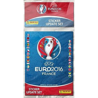 Panini UEFA Euro 2016 Sticker Update Set: Toys & Games