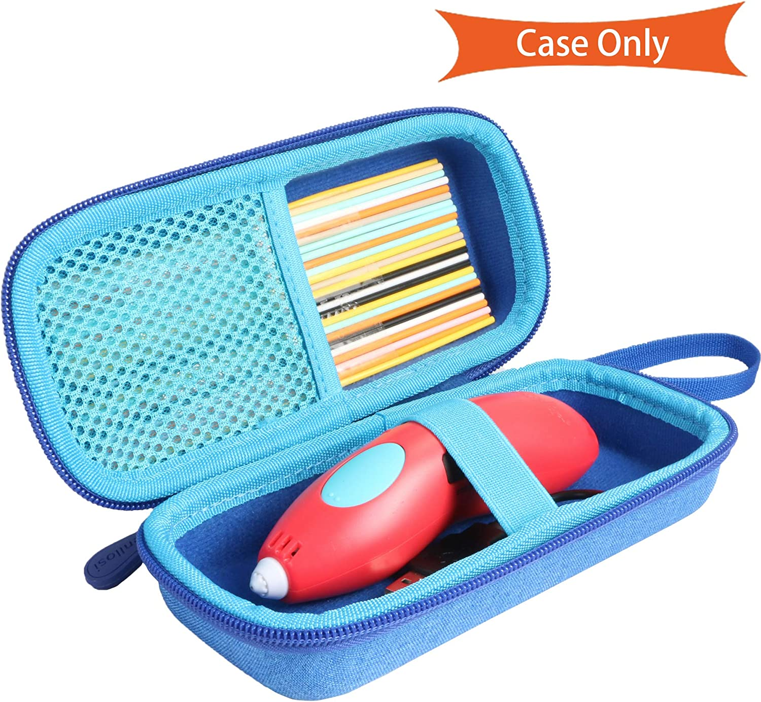 3D Pen Set 2020 Aenllosi Hard Carrying Case Compatible with 3Doodler Start Essentials
