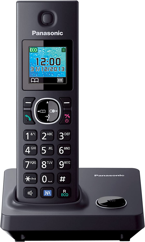Panasonic KX-TG7851 - Teléfono fijo inalámbrico (LCD de 1.45