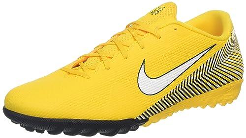 brand new 9b675 1c788 Nike Unisex-Erwachsene Vapor 12 Academy NJR Tf Sneakers Mehrfarbig  (Amarillo/White/